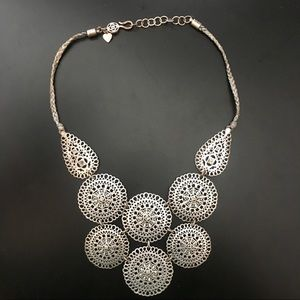 Silver Statement Necklace from Stella & Dot